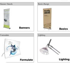 View an online brochure of all the equipment Ideal Displays can supply