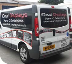 Graphics Livery designed, printed, supplied and fitted by Ideal Displays