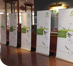 Promotional Banners designed, printed and supplied by Ideal Displays