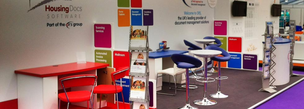 Exhibition Stands built by Ideal Displays