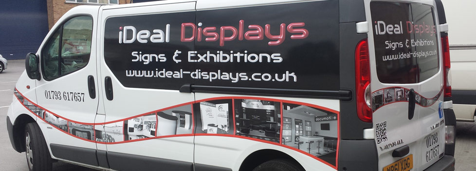 Full Vehicle wrapping service from Ideal Displays