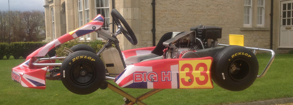Go Kart Graphics Kits designed and Printed by Ideal Displays