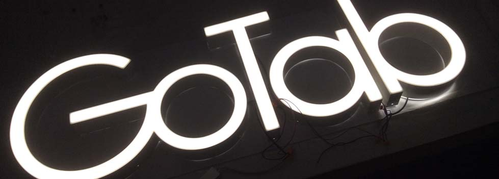 Illuminated Signage supplied by Ideal Displays